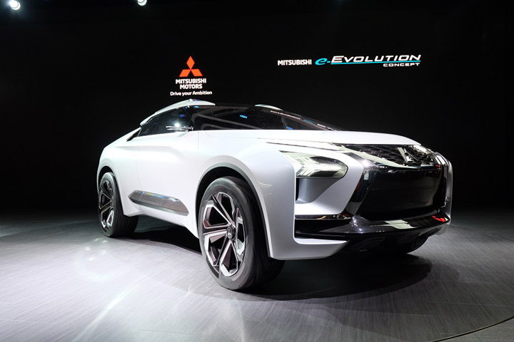 "Mitsubishi e-Evolution Concept – Perwujudan Semangat ""Drive Your Ambition"" Mitsubishi Motors"
