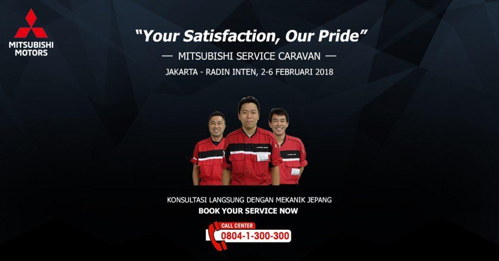 Mitsubishi Service Caravan Kembali Hadir di Jakarta