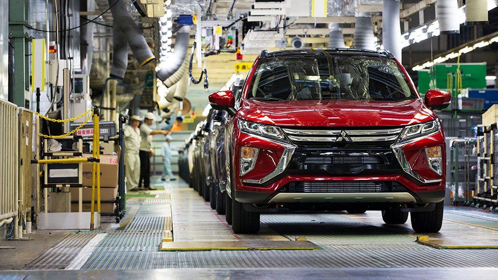 Mitsubishi Motors Memulai Pengiriman SUV Eclipse Cross ke Eropa