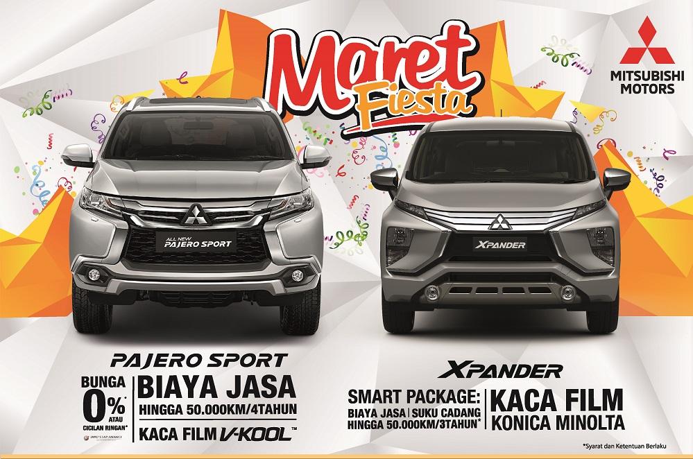Promo Maret Fiesta Mitsubishi 2018