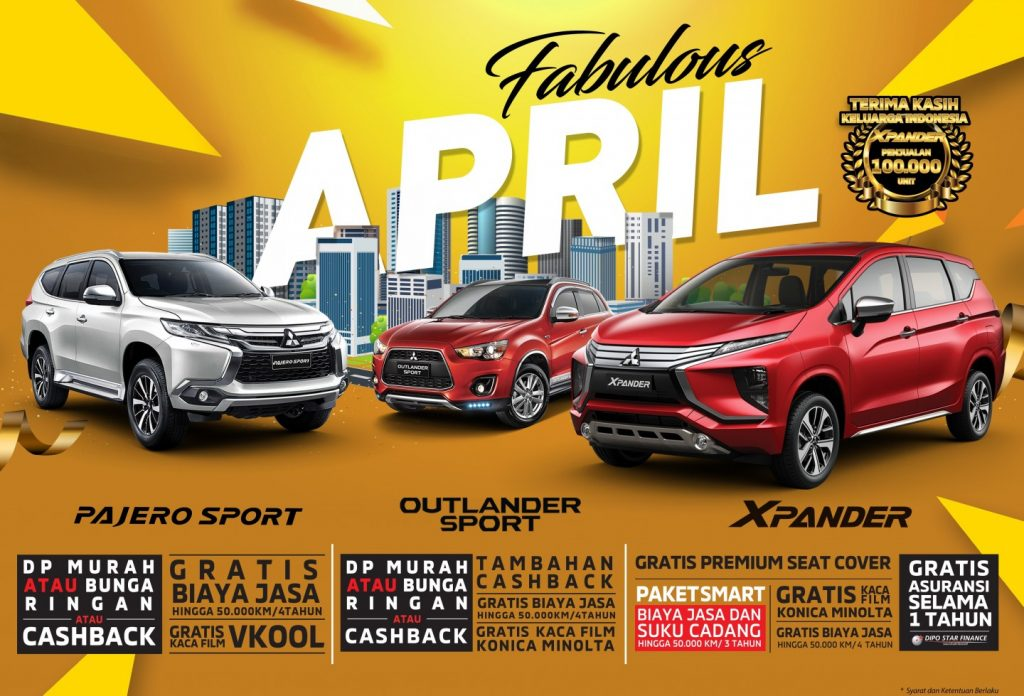 PROGRAM PENJUALAN MITSUBISHI MOTORS APRIL 2019