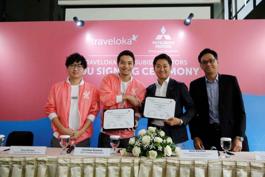Mitsubishi Motors Jalin Kerja Sama dengan Traveloka